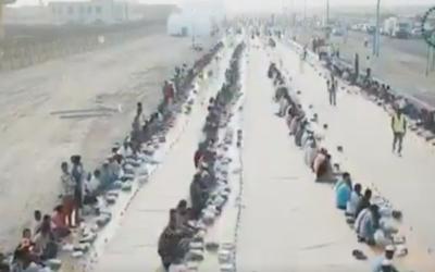 عالمی سیاحتی مرکز دبئی میں دنیا کے طویل ترین افطار دستر خوان کا ریکارڈ قائم