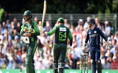دوسرا ٹی ٹوئینٹی ،پاکستانی باولرز نے سکاٹ لینڈ کی بیٹنگ لائن کے پرخچے اڑا دیئے،84 رنز سے شکست دے دی