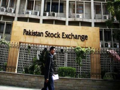 پاکستان سٹاک ایکسچینج میں بہتری کا رجحان ،100انڈیکس میں 173پوائنٹس کا اضافہ