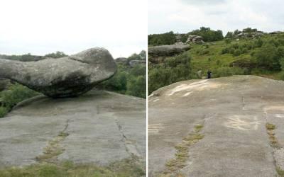 ہزاروں سال یہ پتھر اسی طرح خوبصورتی سے پڑا رہالیکن پھر ایک نوجوان کو کیا سوجھی؟جان کر شاید آ پ کو بھی غصہ آ ئے