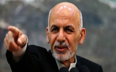 افغان حکومت اور طالبان کے درمیان سیز فائر کا آغاز ہو چکا : افغان صدراشرف غنی