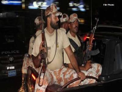 شہر قائد میں رینجرز کی کارروائی ، 9ملزمان گرفتار ، اسلحہ برآمد