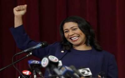 سان فرانسسکو میں پہلی بار سیاہ فام خاتون نے میئر کی نشست پر منتخب ہو کر تاریخ رقم کردی
