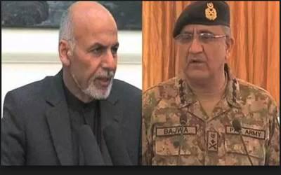 آرمی چیف کو افغان صدر کا ٹیلی فون ،ملا فضل اللہ کی ہلاکت سے آگاہ کیا