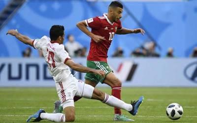 فیفا ورلڈ کپ ، ایران نے مراکش کو 0-1سے شکست دے کر فاتحانہ آغاز کر دیا