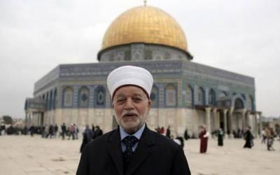 مسلمانوں کے قبلہ اول کا وجود خطرے میں ہے: فلسطینی مفتی اعظم