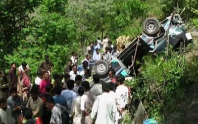 بالاکوٹ ،جیب گہری کھائی میں جاگری ،ایک ہی خاندان کے 10 افرادجاں بحق،مرنے والوں میں 5 خواتین اور 4 بچے بھی شامل