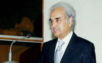 نگران وزیراعظم جسٹس (ر) ناصرالملک کی الیکشن کمیشن آمد،میڈیا کو قریب جانے سے روک دیا گیا