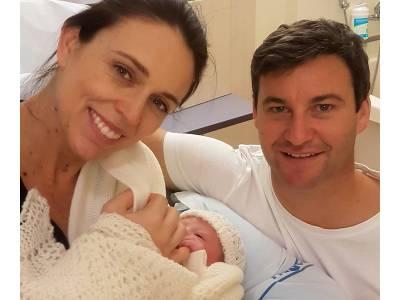 نیوزی لینڈ کی وزیراعظم ماں بن گئیں، بچی کو جنم دیدیا