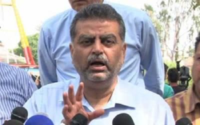 (ن) لیگی رہنما زعیم قادری کا آزاد حیثیت سے الیکشن لڑنے کا فیصلہ