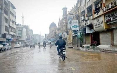 کراچی میں دوروزکے دوران گرج چمک کے ساتھ بارش کا امکان