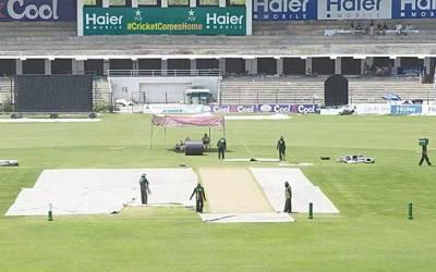 قومی کرکٹ ٹیم کا تربیتی کیمپ بارش نے متاثر کردیا