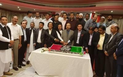 بے نظیر بھٹو کا 65 واں جنم دن دبئی میں منایا گیا، پی پی کے جیالوں کی امارات بھر سے شرکت