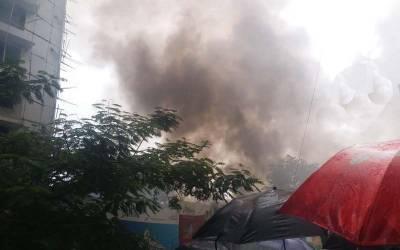 ممبئی میں طیارہ گر کر تباہ، پانچ افراد ہلاک
