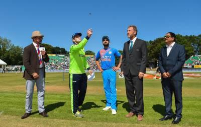 بھارت کا دوسرے ٹی 20 میچ میں آئرلینڈ کیخلاف ٹاس جیت کر فیلڈنگ کا فیصلہ