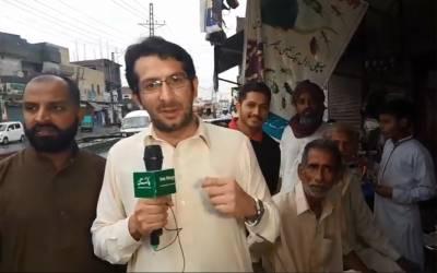 این اے 131 ، عمران خان کامیاب ہوں گے یا خواجہ سعد رفیق ؟ حلقے کی عوامی رائے جانئے