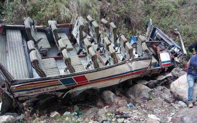 بھارتی ریاست اترکھنڈ میں مسافر بس گہری کھائی میں گرنے سے 40 سے زائد افراد ہلاک