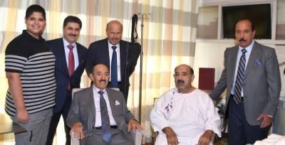 امیر کویت کی جرمنی کے ہسپتال میں نائب وزیراعظم و وزیر دفاع کی عیادت