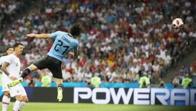 فٹ بال ورلڈ کپ:رونالڈو کی ٹیم کوشکست ، یوروگوئے کوارٹر فائنل میں پہنچنے میں کامیاب