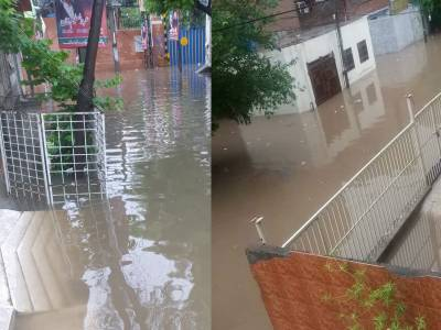 لاہور پانی پانی ہوگیا، شہریوں کو شہبازشریف کی یادستانے لگی، نسبت روڈ پر کشتی سروس شروع
