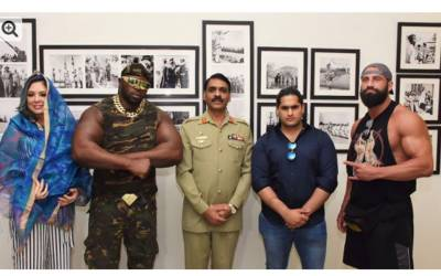 عالمی ریسلرزکی پاکستان آمد،لاہور،کراچی میں مقابلے ہوں گے:آئی ایس پی آر
