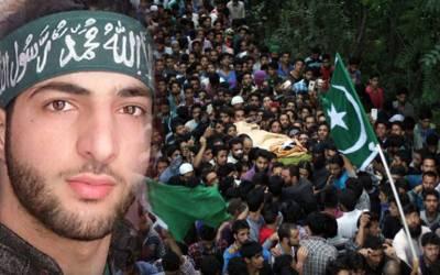 برہان وانی کی دوسری برسی، کشمیر میں مکمل ہڑتال، مظاہرے