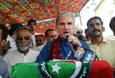پی ٹی آئی کرپشن سے پاک نئے پاکستان کیلئے کوشاں ، پنجاب سے ن لیگ کا صفایا، اب زرداری کی باری ہے: شاہ محمود قریشی
