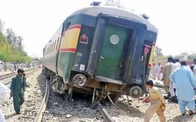 عیسیٰ مگرانی کے قریب ٹرین کی بوگی پٹری سے اترگئی،امدادی کام جاری