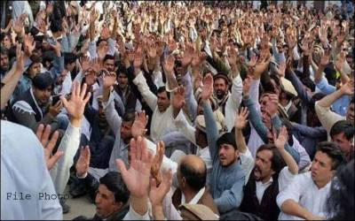 این اے 211:علاقہ مکینوں نے الیکشن کے بائیکاٹ کا اعلان کر دیا