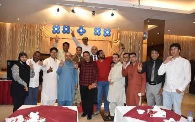 کویت میں مسلم لیگ ن کے کارکنوں کی پاکستان تحریک انصاف میں شمولیت کا اعلان کیا