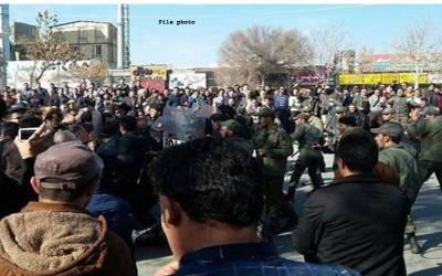 ایران، آبی قلت کی شدت، 125احتجاجی مظاہرین گرفتار