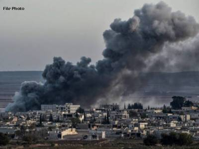 شام کی وادی گولان پر قابض صیہونی فوج کا فضائی حملہ