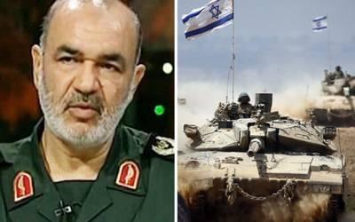 'اسرائیل کی سرحد پر موجود ہماری یہ فوج اسے مکمل تباہ کردے گی' بڑے اسلامی ملک نے دبنگ اعلان کردیا، کھلبلی مچادی