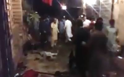 اے این پی کی کارنر میٹنگ میں ہونے والے دھماکے کی ویڈیو منظرعام پر آ گئی، دیکھ کر ہر کوئی لرز اٹھا