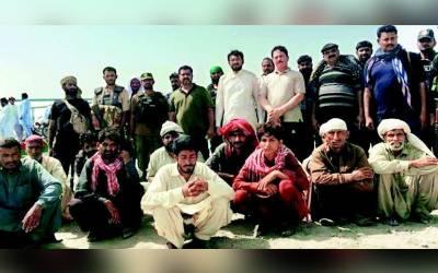 پولیس نے12 مزدوروں کو کچے کے علاقے سے بازیاب کرالیا