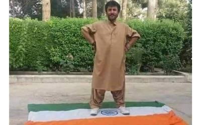 وطن سے عشق سراج رئیسائی کی پہچان بنا رہا ، بھارتی ترنگے کو روندا، قومی پرچم کیساتھ تصاویر دوستوں کو بھی بھیجتے رہے