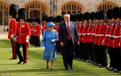 برطانوی ملکہ سے ملاقات ، ڈونلڈٹرمپ نے ایسی افسو سناک حرکت کر دی جو آج تک دنیا کے کسی حکمران نے نہیں کی، ہنگامہ برپا ہوگیا
