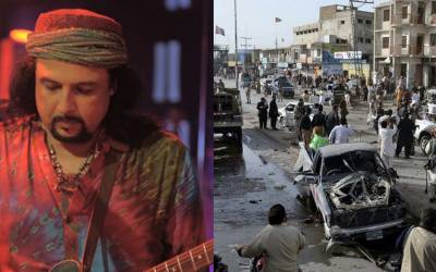 ''بم دھماکوں میں جو شہید ہو رہے ہیں وہ۔۔۔'' گلوکار سلمان احمد نے ایسی بات کہہ دی کہ پاکستانی غصے سے آگ بگولہ ہو گئے