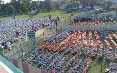 جہلم کے جلسہ میں بدنظمی او ربدانتظامی پر عمران کی شدید برہمی، فواد چودھری اور دیگر کی سرزنش