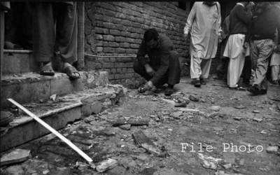لکی مروت ، گھر میں دھماکہ،2 راہگیروں سمیت 4 افرادزخمی