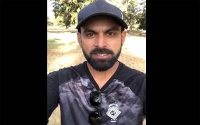 الیکشن 2018، قومی کرکٹر محمد حفیظ بھی میدان میں آگئے،ویڈیو پیغام جاری کردیا