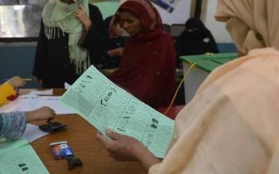 منڈی بہاﺅ الدین ،خواتین کو ووٹ ڈالنے سے روکنے پر 8 پولنگ ایجنٹ گرفتار