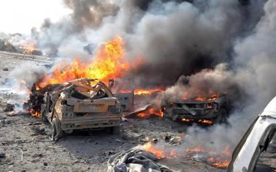 جنگ زدہ عرب ملک شام میں تین خود کش دھماکے ،ہلاک افراد کی تعداد 200 تک جا پہنچی ،مزید ہلاکتوں کا اندیشہ