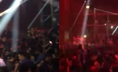 عمران خان کی فتح پر دبئی کے نائٹ کلب میں تحریک انصاف کا ترانہ چلا دیاگیا، ویڈیو سامنے آگئی