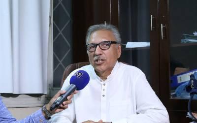 وفاق اور صوبائی سطح پر ایم کیو ایم سے اتفاق ہو سکتا ہے,بلوچستان میں بھی حکومت سازی کیلئے رابطے میں ہیں:ڈاکٹر عارف علوی