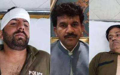 جیت کی خوشی میں ہوائی فائرنگ اور پولیس اہلکار پر تشددکے الزام میں گرفتار پی ٹی آئی کے نومنتخب رکن اسمبلی ندیم عباس 5 روزہ جسمانی ریمانڈ پر پولیس کے حوالے