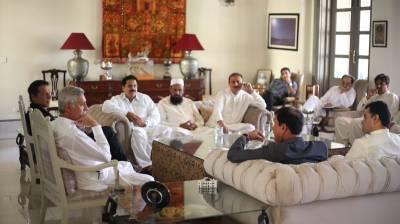 5 نومنتخب ارکان قومی و صوبائی اسمبلی بنی گالہ پہنچ گئے ، معاویہ اعظم سے معاملات طے