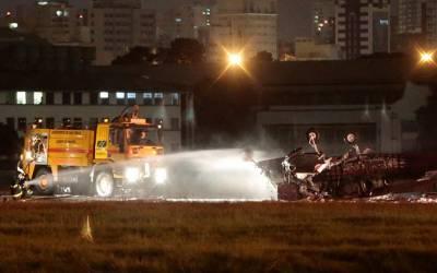 برازیل میں چھوٹا طیارہ گر کر تباہ، پائلٹ ہلاک