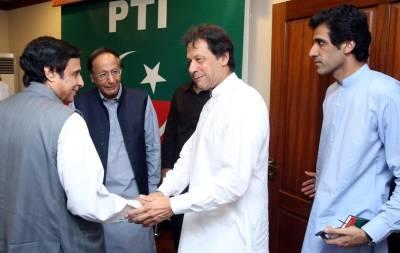 """""""بہت بہت شکریہ جو آپ نے۔۔۔"""" چوہدری شجاعت اور پرویز الٰہی نے عمران خان کو باغ باغ کر دیا"""