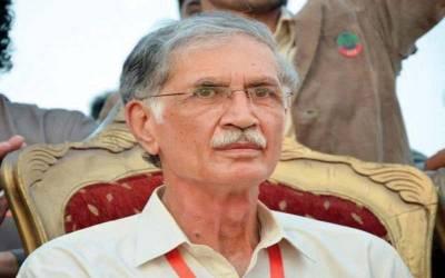 کے پی کے وزارت اعلیٰ ،پرویز خٹک نے وہ اعلان کردیا جس کا عمران خان کو انتظار تھا
